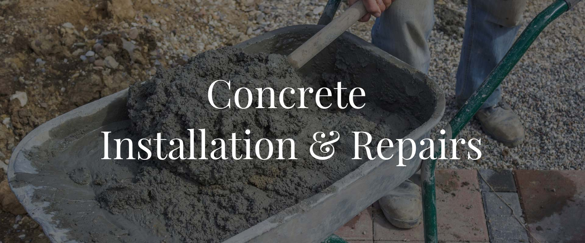 concrete installation and repairs